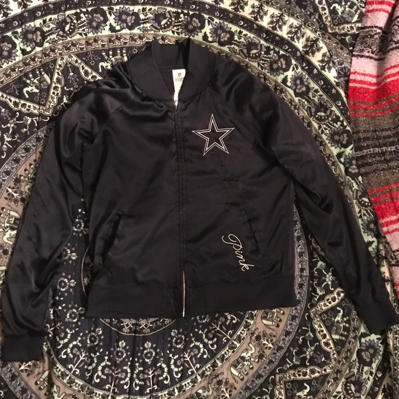 new style 85a65 64098 Dallas cowboys PINK jacket